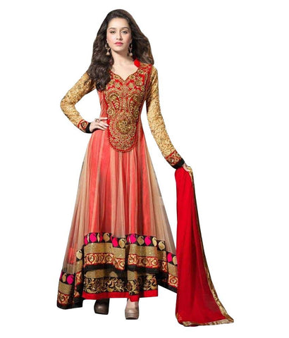 Net Anarkali Dress Material Designer Salwar Suit - Shraddha kapoor Suit