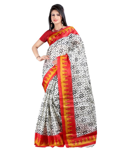 Latest Designer Pure Silk Printed Saree For Women