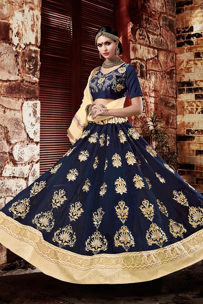 Urban-Naari-Pink-Colored-Georgette-Heavy-Embroidered-Semi-Stitched-Lehenga-Choli