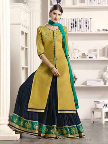 Latest Cotton Long Skirt With Kurti