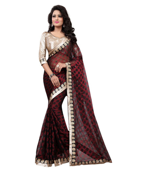 Designer-Border-Saree-Exclusive-latest-Bollywood-Fashion-Saree-lady-064-Party-Wear-Saree