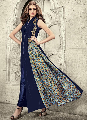 Embroidered-Blue-Velvet-Pant-Style-Suit-Designer-Anarkali-Suit