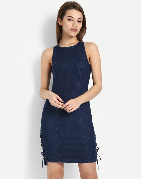 online-bodycon-dress-blue-sleeveless-denim-bodycon-dress