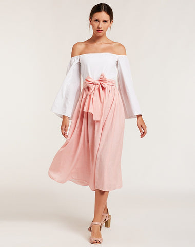 2-in-1-front-bow-style-off-shoulder-skater-dress