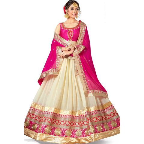 Pink Color Lehenga Heavy Embroidered Partywear Designer Lehenga Choli Wedding Wear
