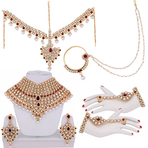Diamond Wedding Necklace Set - Bridal Jewellery Sets