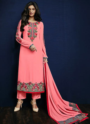Urban-Naari-21377-Designer-Suits-Peach-Designer-Georgette-Embroidered-Semi-Stitched-Salwar-Suit