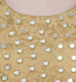Golden Blouse for Saree