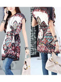 New Fashion Trend 2016 Tops Hot Fashion Colorful Flowers Top