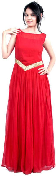 Red Color Designer Wedding Gowns For Women
