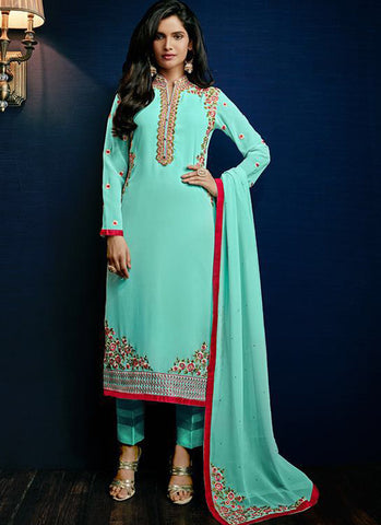 Urban-Naari-21375-Designer-Salwar-Suits-Sea-Green-Designer-Georgette-Embroidered-Semi-Stitched-Salwar-Suit