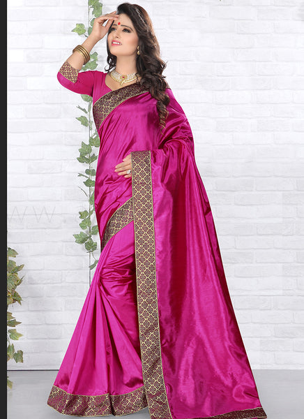 Urban-Naari-21767-Green-Designer-Art-Silk-Embroidered-Lace-Border-Saree