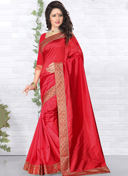 Urban-Naari-21768-Pink-Designer-Art-Silk-Embroidered-Lace-Border-Saree
