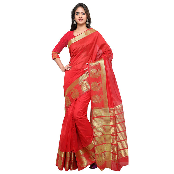 Red Colour Wedding Saree