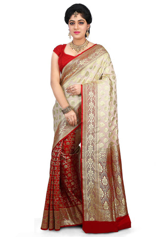 Pure-Banarasi-Silk-Handloom-Saree-Penkalamkari-Kota-Silk-Woven-Pure-Silk-Saree