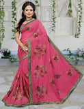 Urban-Naari-21637-Pink-Colored-60-gm-Georgette-Resham-Work-Saree