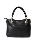 Black Leatherette Handbag For Women Online Designer Women Purse