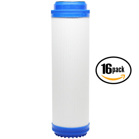 "16-Pack 10"" Universal Granular Activated Carbon Water Filter"