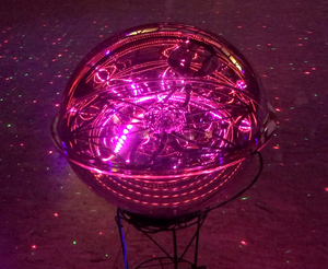 Galaxy Sphere Miniverse - A portable power source for your space ship*