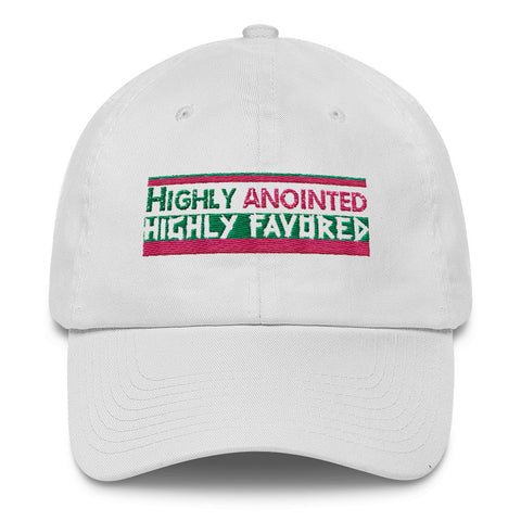 Women Highly Anointed Cotton Cap - Our Anointed Tees.