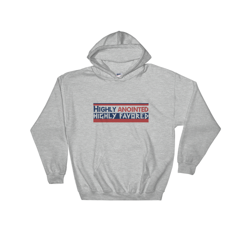 Highly Anointed Hooded Sweatshirt - Our Anointed Tees.