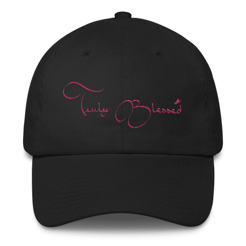 Women Truly Blessed Cotton Cap - Our Anointed Tees.