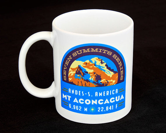 Aconcagua Seven Summits Coffee Mug
