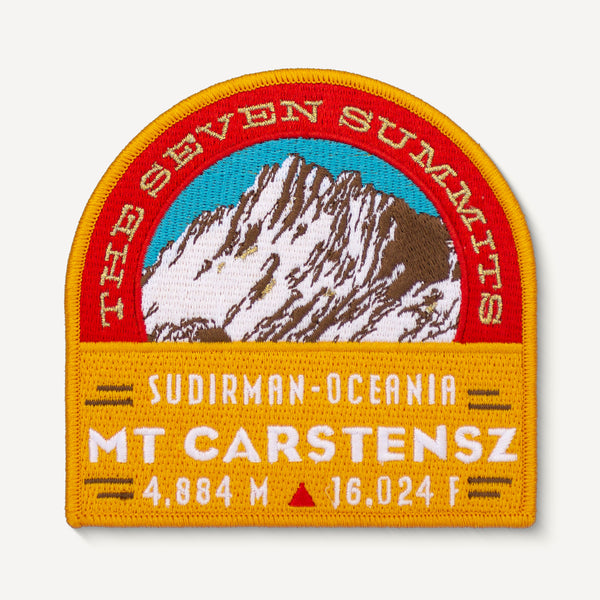 Mt. Carstensz Seven Summits Patch