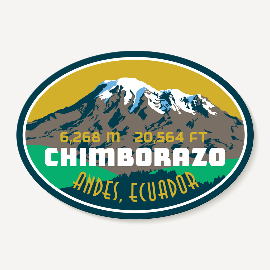 Chimborazo Decal Sticker