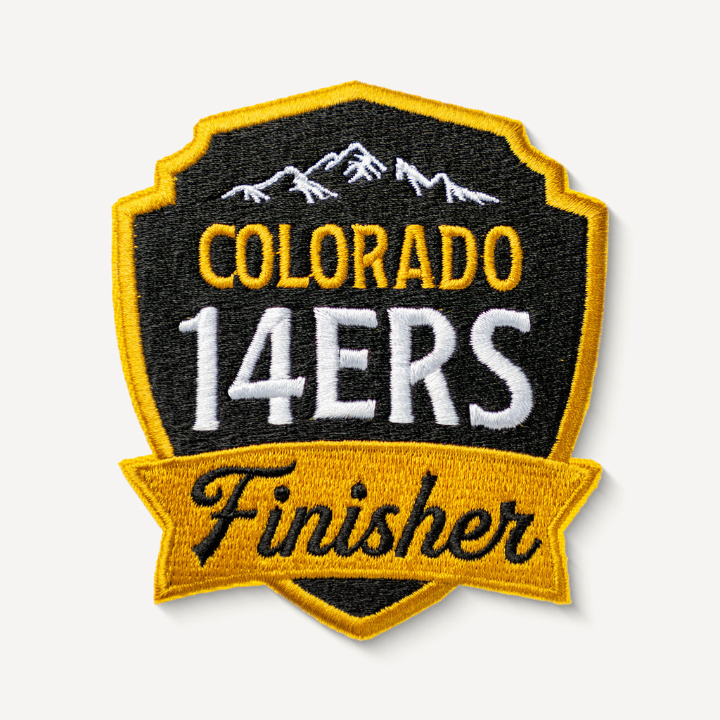 Colorado 14ers Finisher Patch