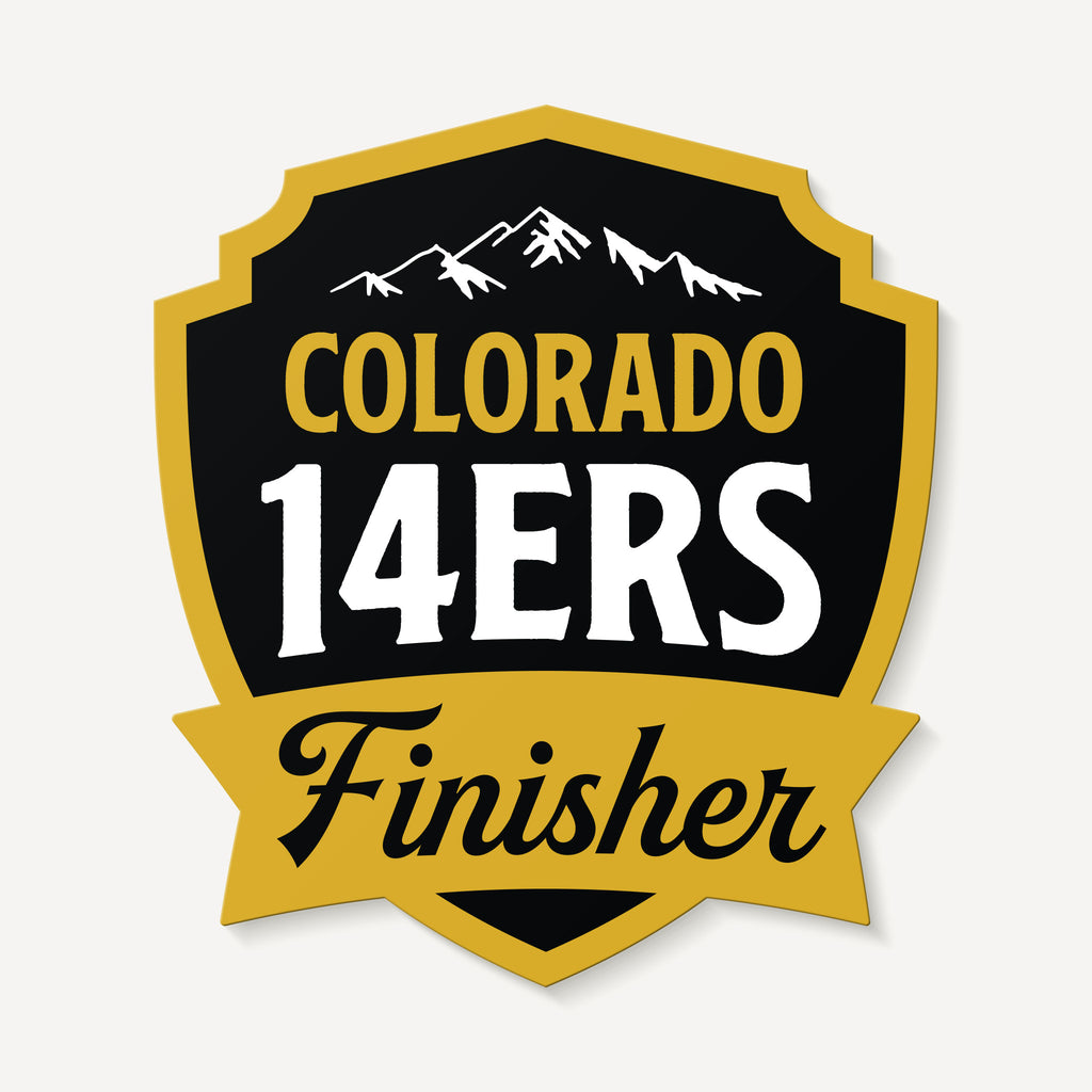 Colorado 14ers Finisher Sticker