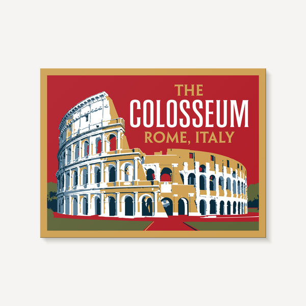 The Colosseum Decal Sticker