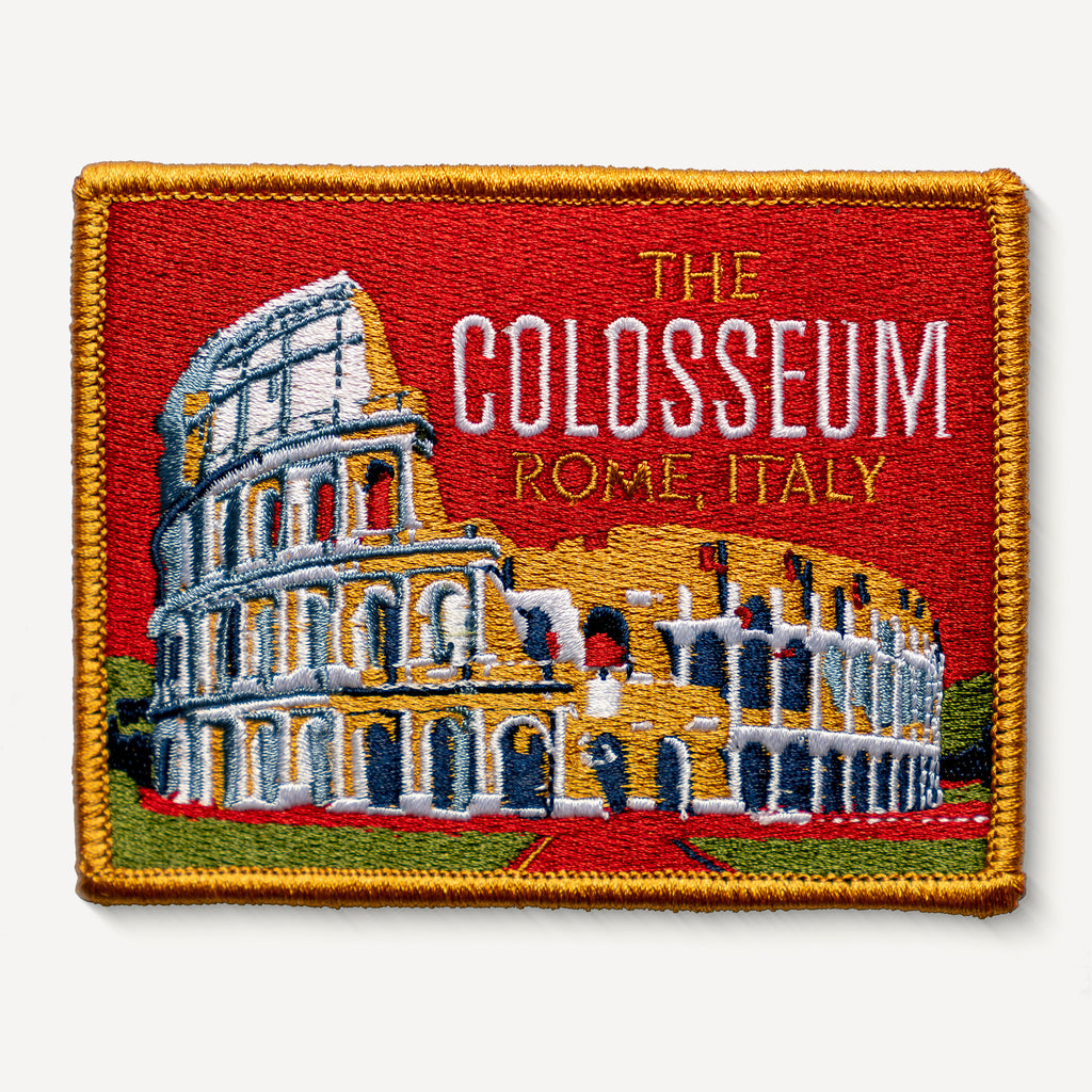 The Colosseum Rome Italy Patch
