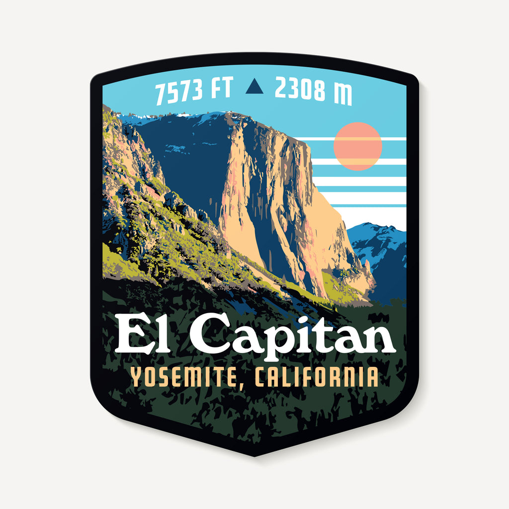 El Capitan Yosemite California Decal Sticker