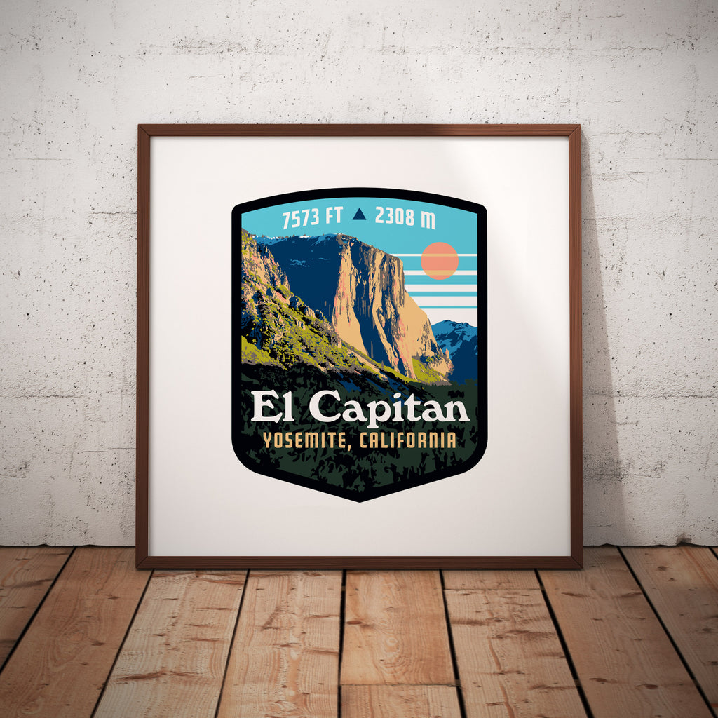 El Capitan Yosemite California Giclee Art Print