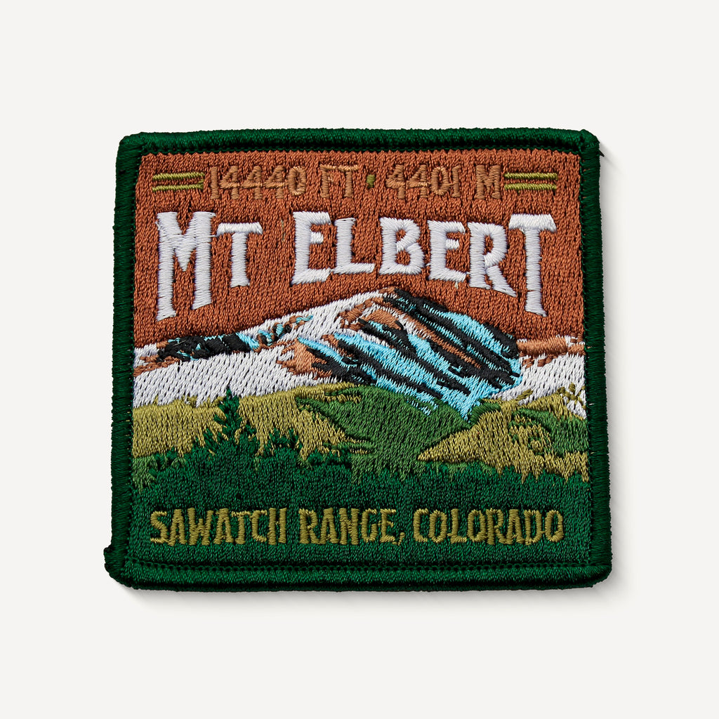 Mt. Elbert Colorado 14er Patch