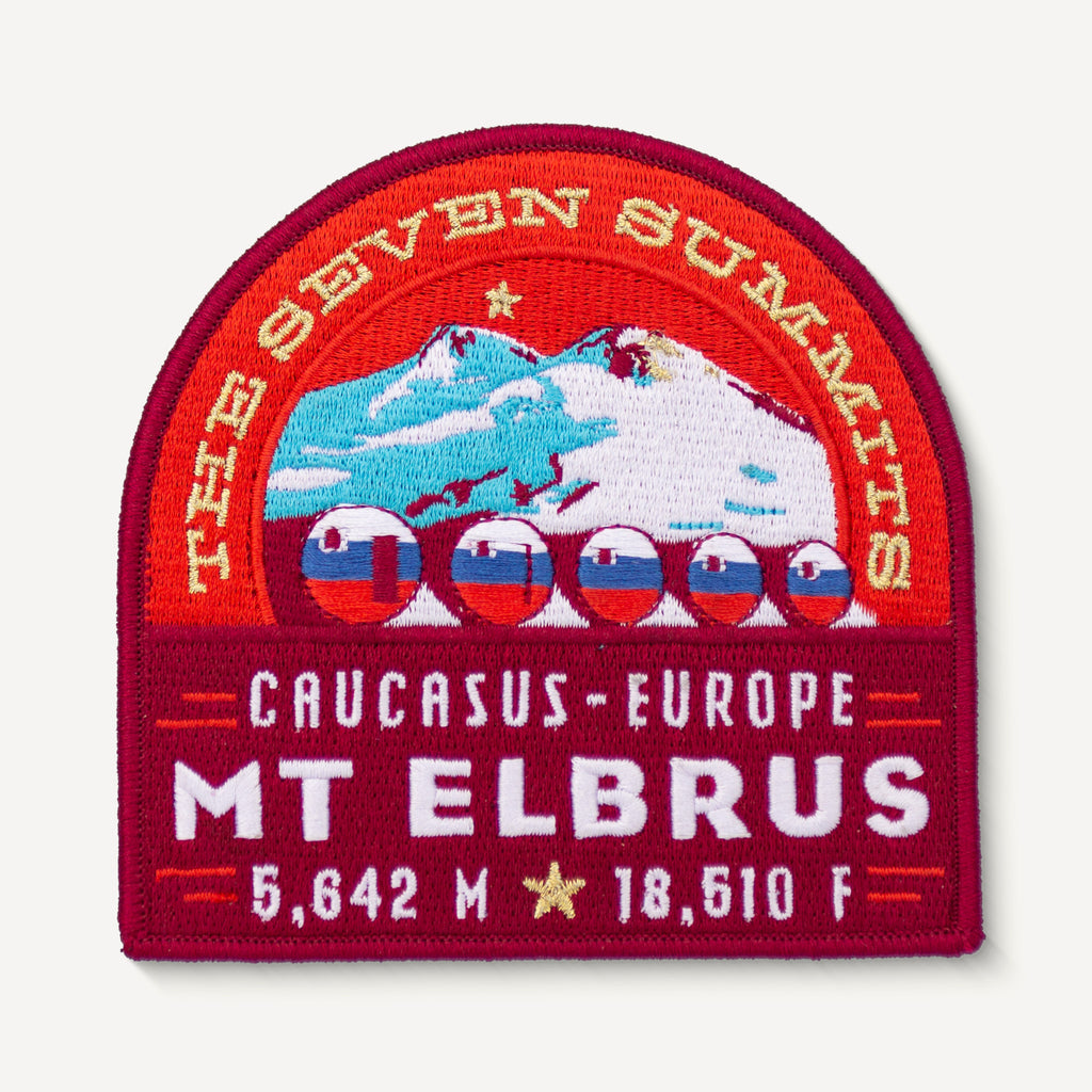 Mt. Elbrus Seven Summits Russia Patch