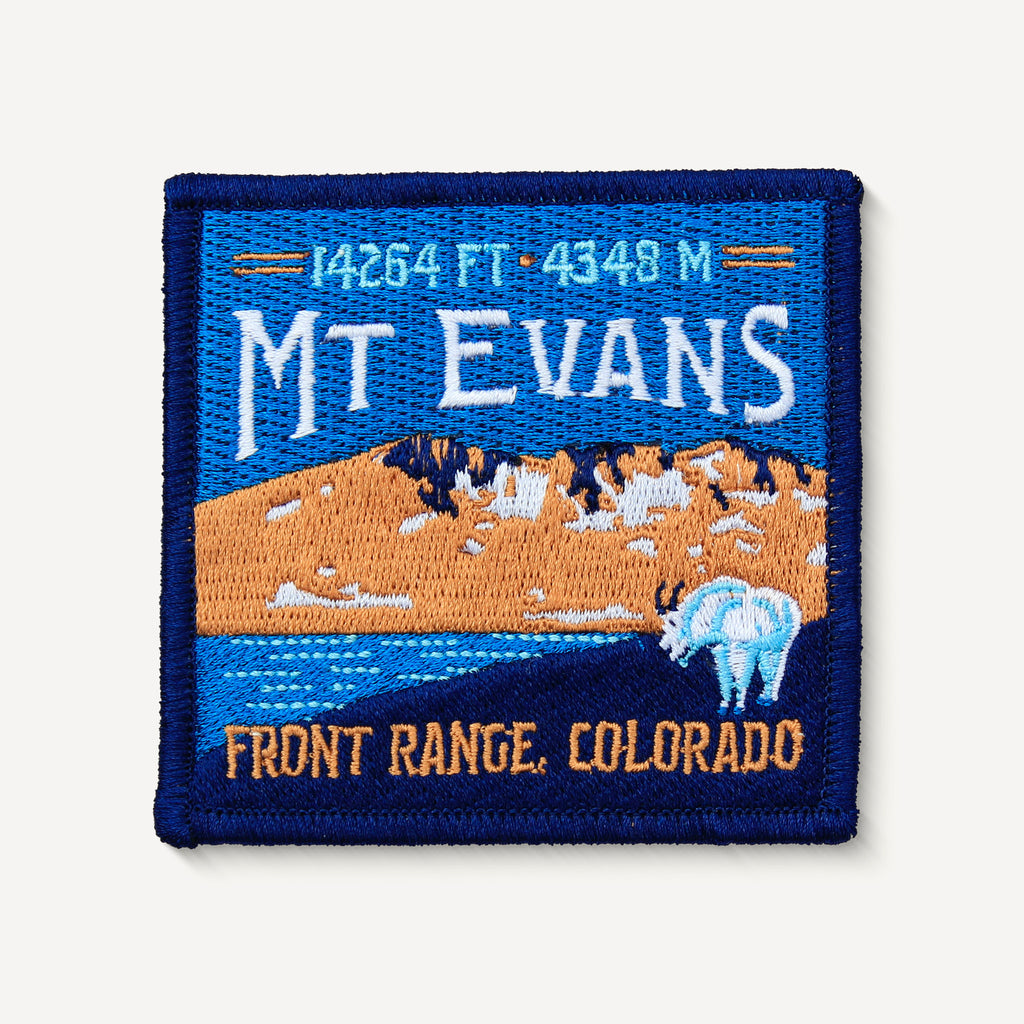 Mount Evans Colorado 14er Patch