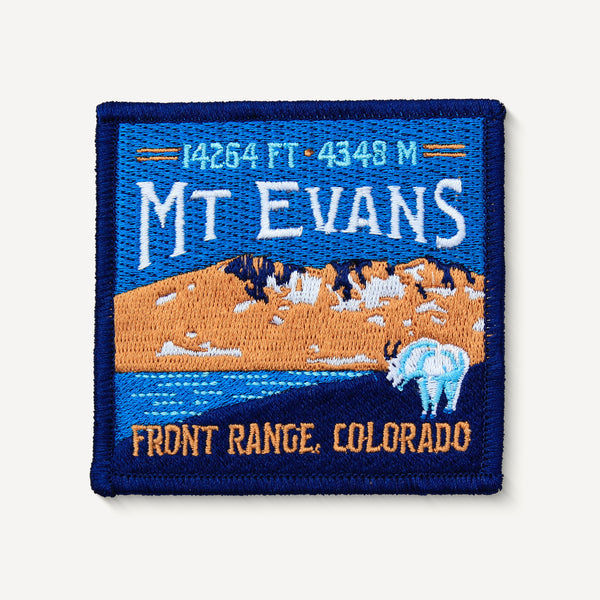 Mt. Evans Colorado 14er Patch