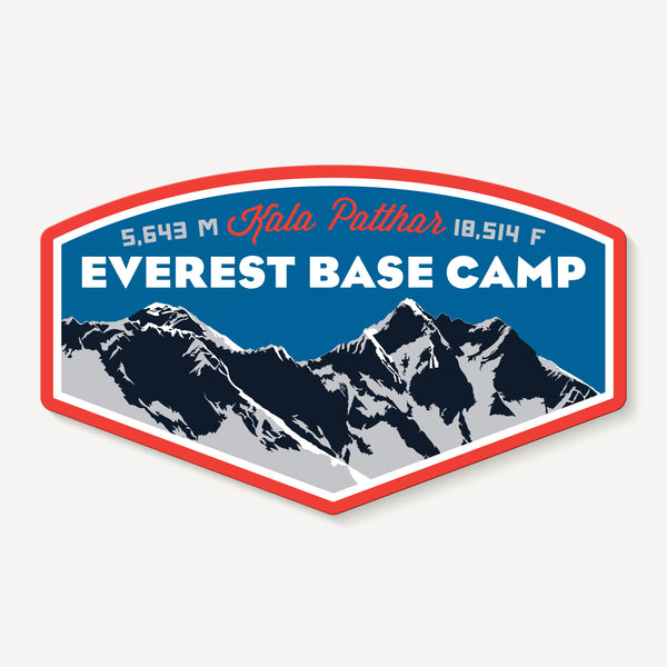 Everest Base Camp Himalayas Asia Travel Decal Sticker