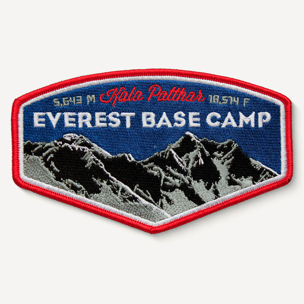 Everest Base Camp Himalayas Asia Travel Embroidered Iron-on Patch