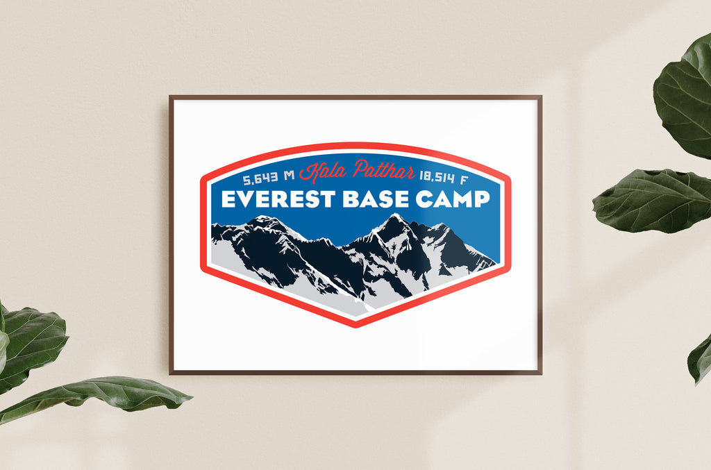 Everest Base Camp Print