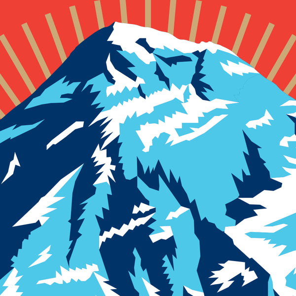 Mt. Everest Seven Summits Print