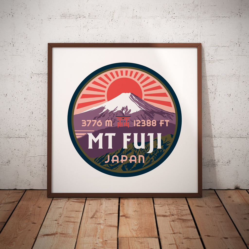 Mt. Fuji Japan Giclee Art Print