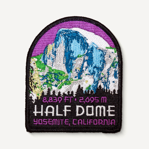 Half Dome Yosemite California Travel Patch