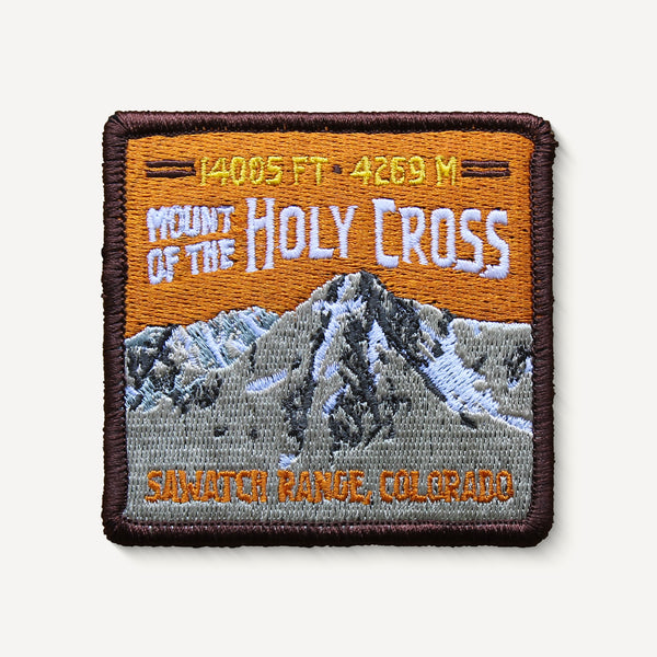 Mount of the Holy Cross Colorado 14er Embroidered Mountain Travel Patch