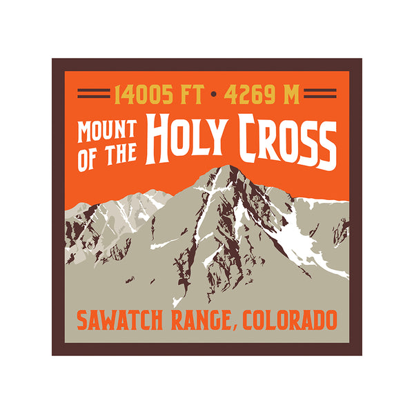 Mount of the Holy Cross Print