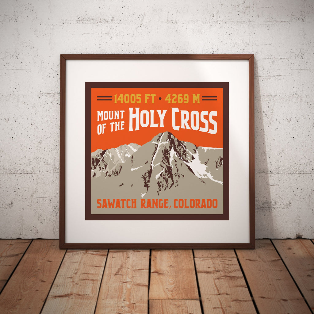 Mount of the Holy Cross Colorado 14er Giclee Art Print