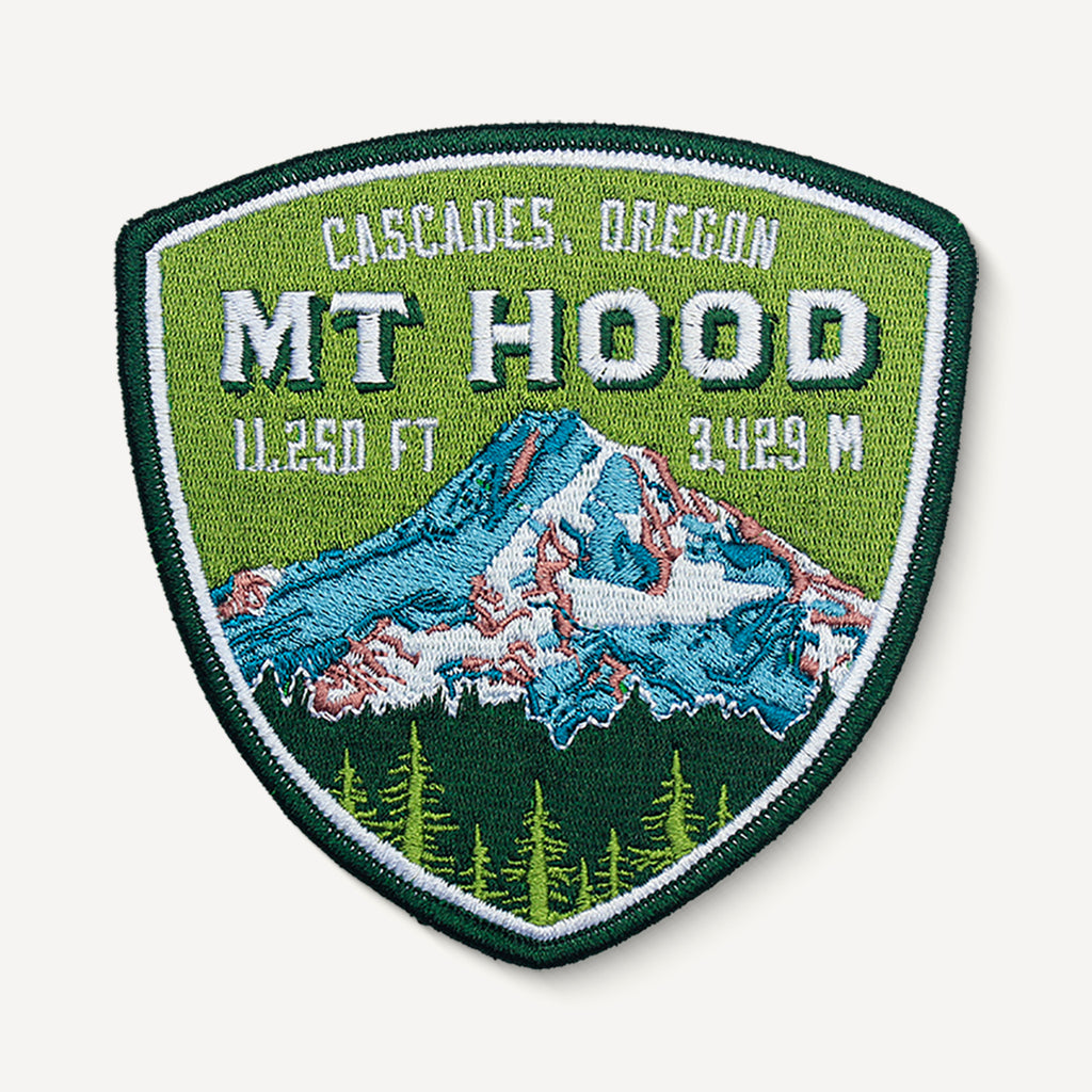 Mount Hood Cascades Oregon Patch