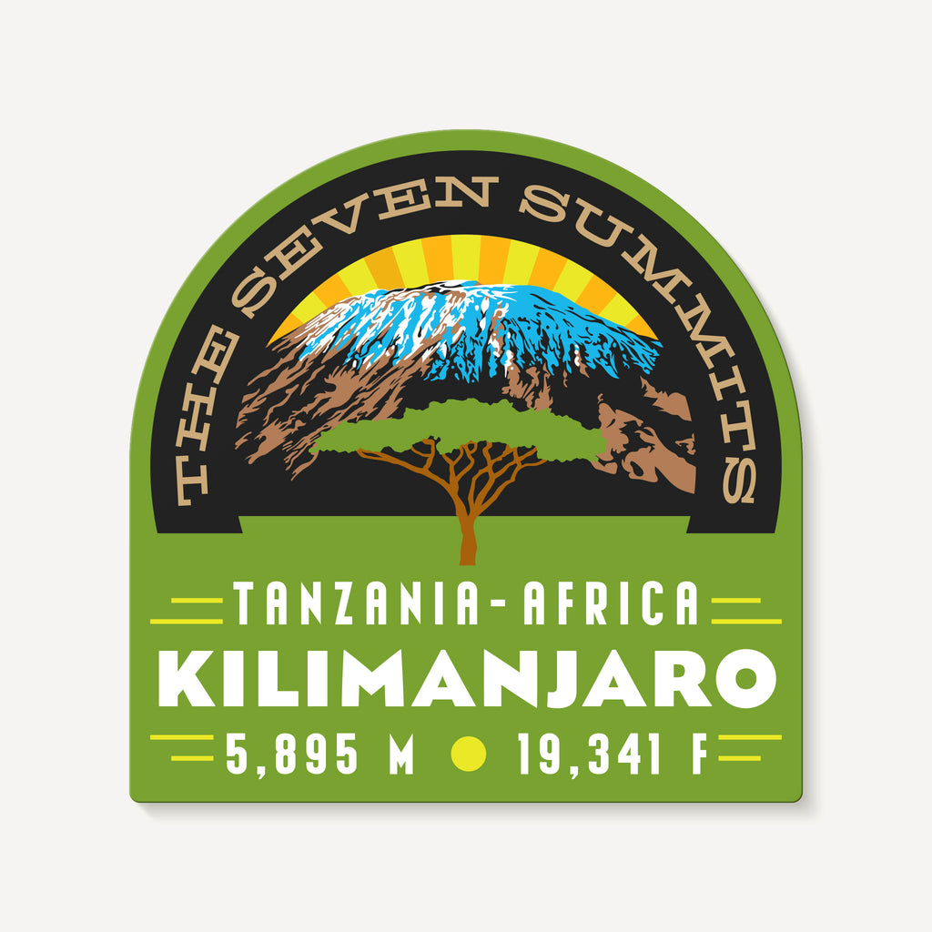 Kilimanjaro Tanzania Africa Seven Summits Decal Sticker